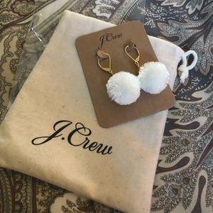 J.crew Pom Pom Earrings